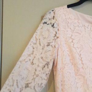 Vince Camuto Dresses - Vince Camuto Blush lace dress